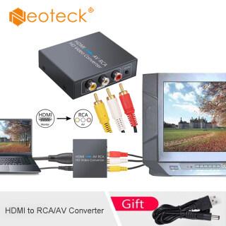 Neoteck HDMI Để RCA Bộ Chuyển Đổi AV Adapter Với 1.5M Cáp AV 1080P HDMI Để AV CVBS Bộ Chuyển Đổi RCA Hỗ Trợ NTSC PAL Tương Thích Với TV PC PS3 STB VCR VHS Blue-Ray DVDPlayers Chiếu thumbnail