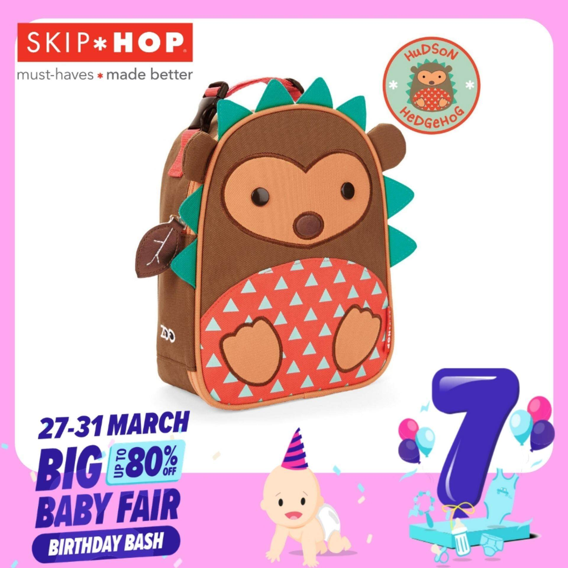 Skip Hop Zoo Lunchies Insulated Lunch Bag - Hedgehog By Berry&blossoms.
