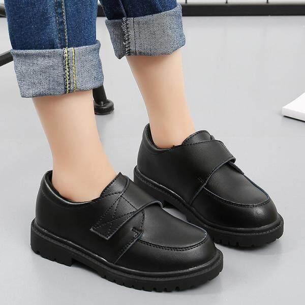 Giá bán Giày Da Cho Trẻ Em Giày Tây Đám Cưới Cho Bé Trai Thương Hiệu Quý Ông Trẻ Em Giày Đen Nữ Đồng Phục Trường Học Giày Chính Thức Giày Sneaker Đế Xuồng