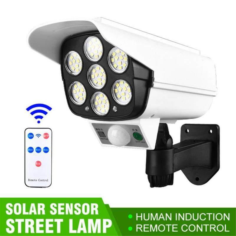 Camera An Ninh Giả Mạo Đèn LED Cảm Ứng Cơ Thể Con Người Sử Dụng Năng Lượng Mặt Trời Cho Sân Vườn Ngoài Trời