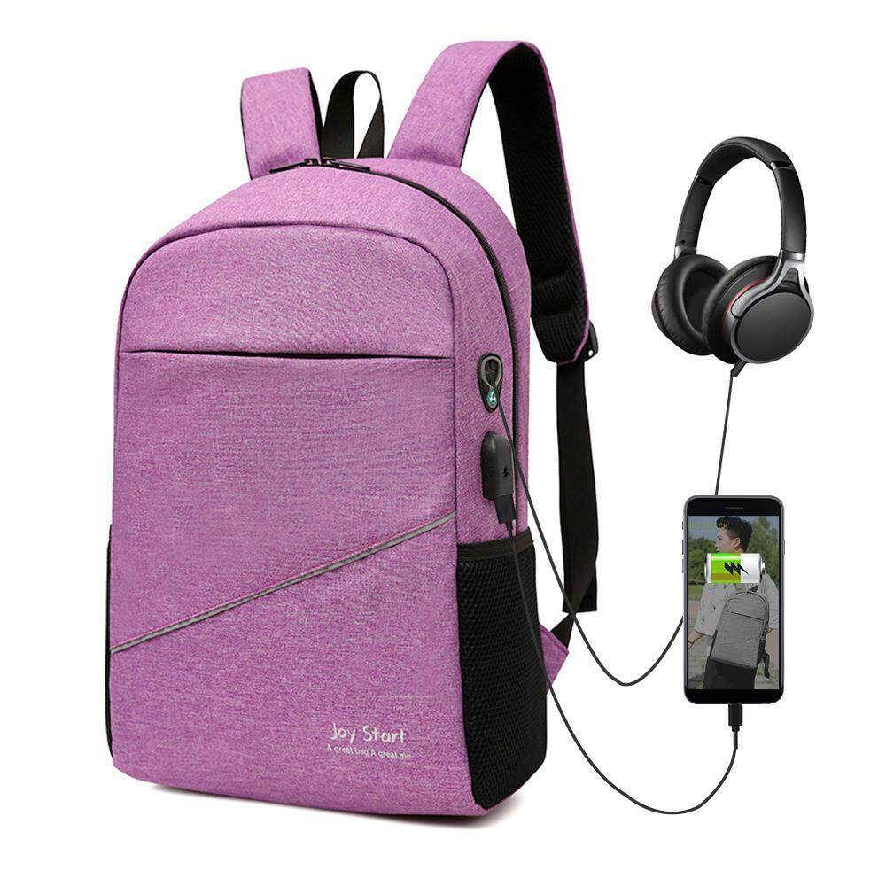 bf16382ab3c8 SilyNew Business Laptop Backpack, Anti Theft Water Resistant Bookbag with  USB Charging Port and Headphone Interface, Slim Travel College School ...