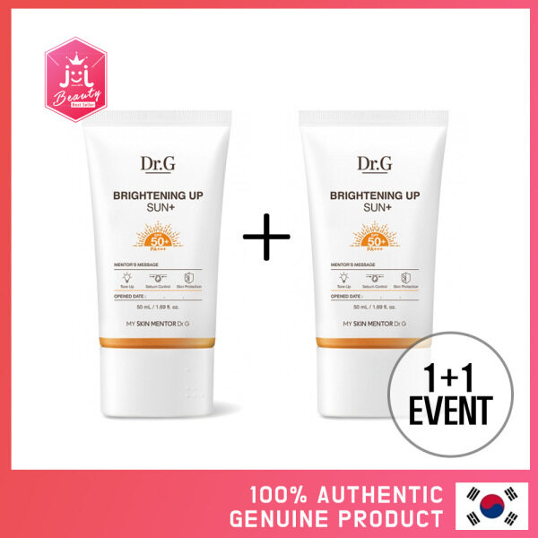 Buy [KOREAN BEAUTY] 1+1 Dr.G Brightening Up Sun+ SPF50+ PA+++ (RENEWAL) Singapore