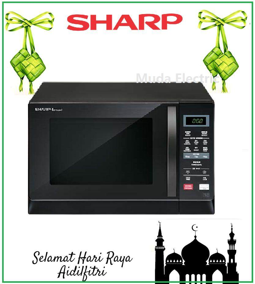 New Sharp Microwave R207ek With 2 Auto Menus By Mudah Electric.