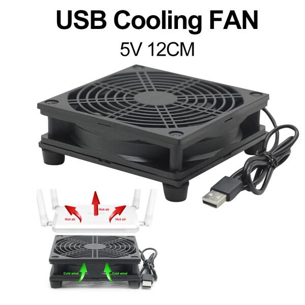 Bảng giá Bộ Cấp Nguồn USB 12Cm 5V Bộ Định Tuyến Set-Top Box Bộ Tản Nhiệt Quạt Làm Mát Không Khí Phong Vũ