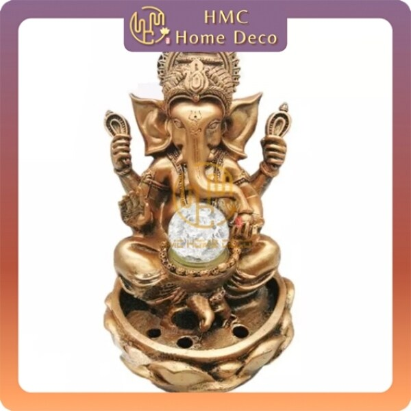 WATER FOUNTAIN GANESHA LX3323 WATER FEATURE FENG SHUI HOME DECORATION