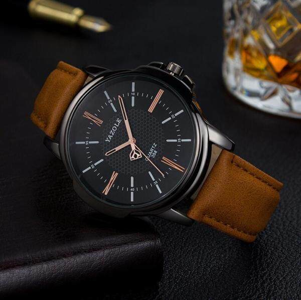 [LazChoice]YAZOLE 358 Top Luxury Brand Watch For Man Fashion Sports Men Quartz Watches Trend Wristwatch Gift For Male jam tangan lelaki Malaysia