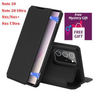 Ban Đầu Dux Ornaments Ducis Đối Với Samsung Galaxy S21 Plus Note 20 Ultra Da Lật Bìa Trường Hợp Với Miễn Phí quà Tặng thumbnail