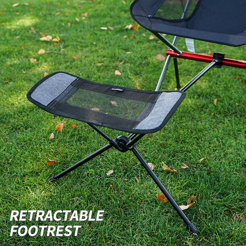 Ready Stock Comfortable Outdoor Folding Chair Footrest Portable Recliner Lazy Foot Drag Retractable Extension Leg Stool Lazada Singapore