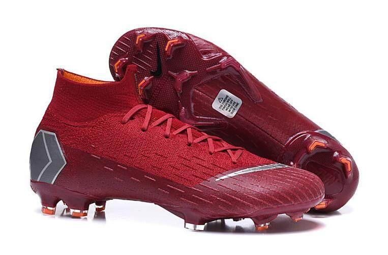 sports shoes e7ebe 34744 Nike Official Football League Men s Soccer Shoes Size 40~45 Discounted  Mercurial Superfly VI