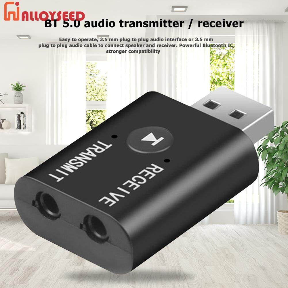 ALLOYSEED TR6 2 in 1 Bluetooth 5.0 Receiver Transmitter 3.5mm Audio Wireless Adapter