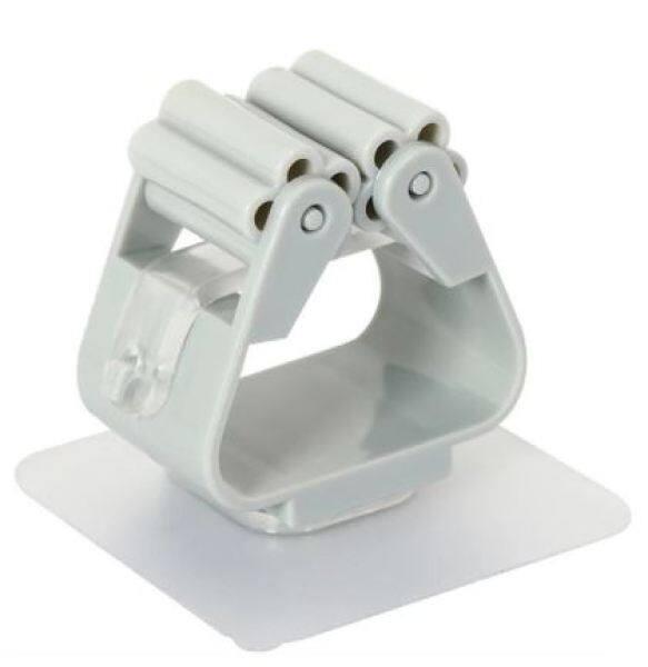 QQ Bathroom Mop Holder Hook Multifunction Broom Stand Storage Waterproof Penyapu Penyangkut 拖把支架 [F08]