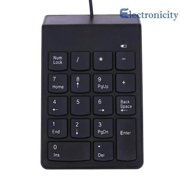 New USB Mini 18-keys Num Pad Numeric Number Keypad Keyboard for Laptop Note Singapore