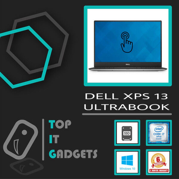 DELL XPS 13 (9350) ULTRABOOK TOUCHSCREEN / HIGH PERFORMANCE LAPTOP [ CORE i5-6200U SKYLAKE / 8GB DDR3L RAM / 256GB SSD STORAGE / 13.3 INCH QHD+ INFINITY EDGE SCREEN / WINDOW 10 PRO / 6 MONTHS WARRANTY [ LAPTOP / NOTEBOOK ] Malaysia