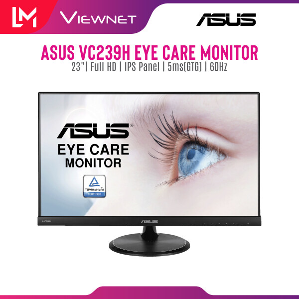 Asus VC239H Eye Care Monitor - 23 inch, Full HD, IPS, Flicker Free, Blue Light Filter, Anti Glare Malaysia