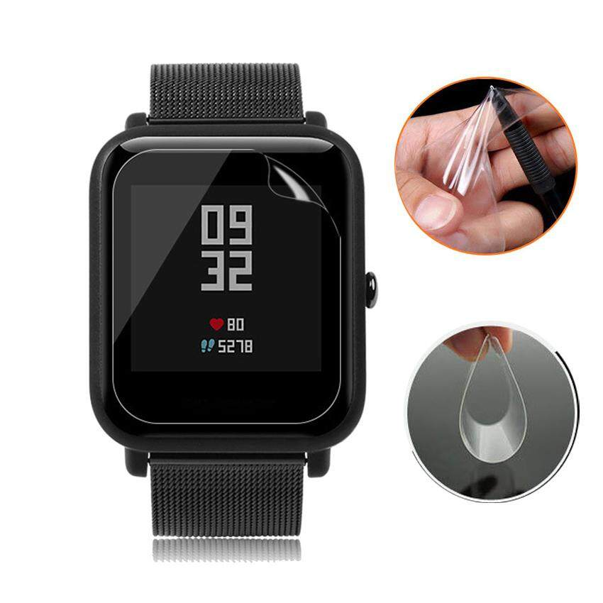 793230d7ad Anti-Scratch Soft Ultra Clear Protective Film for Xiaomi Amazfit Bip Youth  Edition Smart Watch