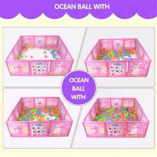 Bộ hàng rào bằng nhựa hoạ tiết hoạt hình xây khu vui chơi cho trẻ em - INTL thumbnail