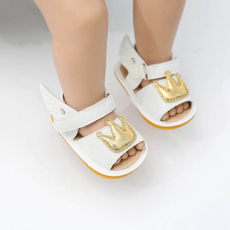 Sandal Bayi Perempuan Rekreasi Musim Panas Bayi Anak Perempuan Sandal Bayi Crown Sepatu Putri