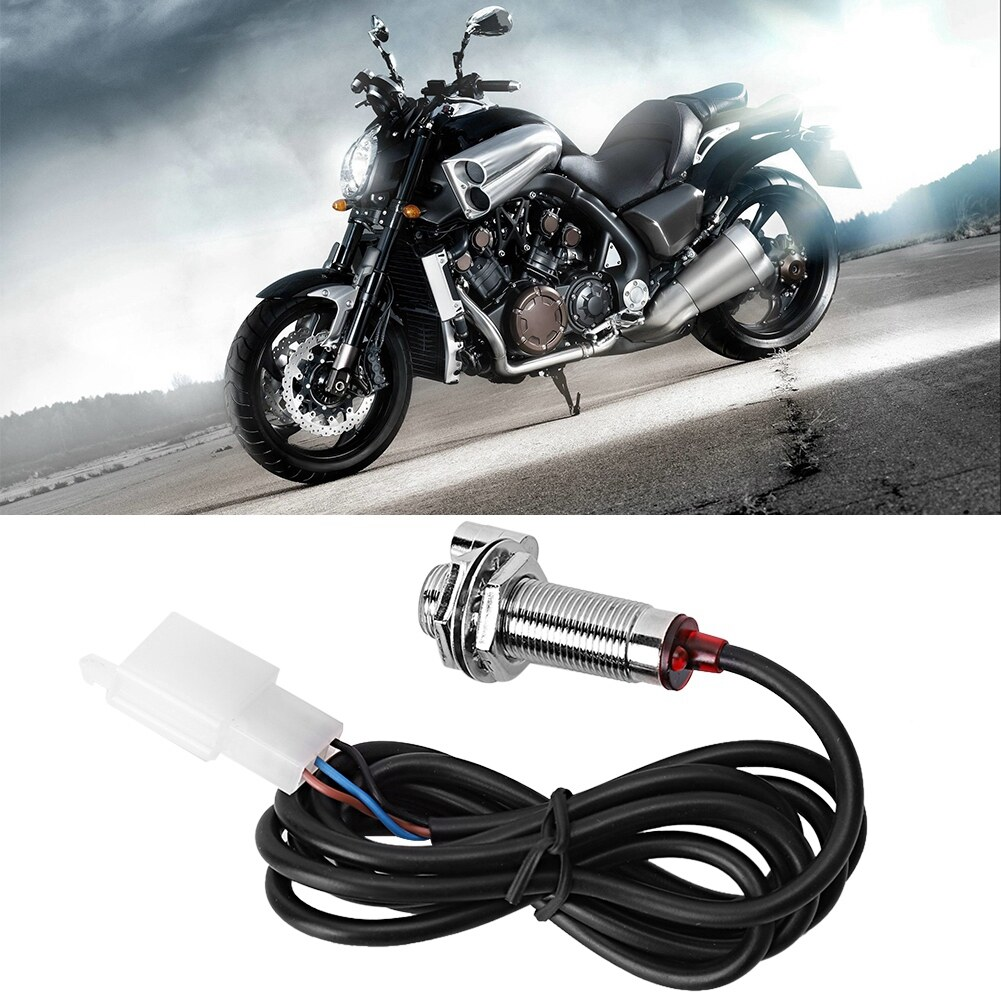 ABS Odometer Sensor Cable with 3 Magnet for Digital Speedometer Motorcycle Tachometer Odometer Sensor Cable