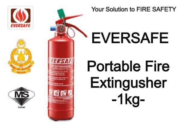 EVERSAFE Portable Fire Extinguisher (1kg) ABC Dry Powder
