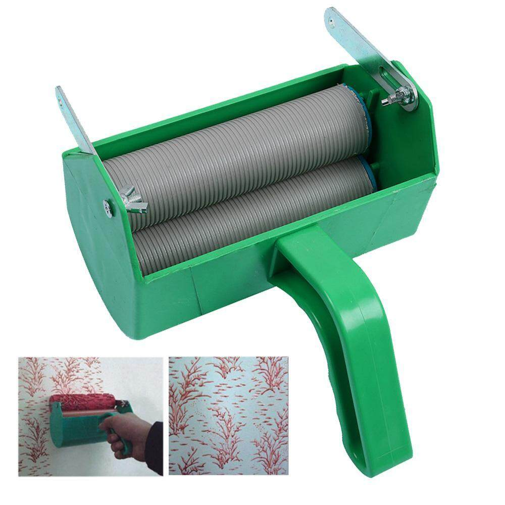 GoodGreat DIY Wall Decoration Empaistic Paint Roller with Handle Painting Accessories Painting Machine for 5Inch Wall Roller Brush Tool