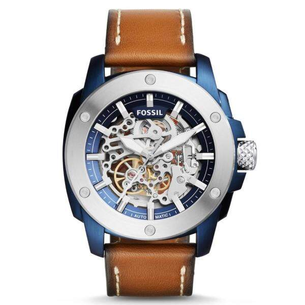 Original Fossil Mens Modern Machine Automatic Leather Watch  with 2 year warranty ME3135 Malaysia