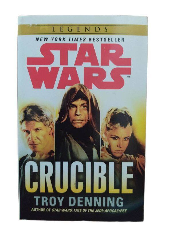 Clearance old stock - Star War: Crucible ISBN 9780099542933 Book in UK A-format size 178 x 111 mm (Paperback) – Original Guaranteed Malaysia