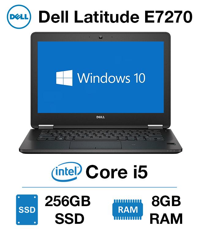 Dell Latitude E7270 (Core i5-6th Gen , 8GB Ram DDR4, 256GB SSD, 12.5  HD Screen) Malaysia