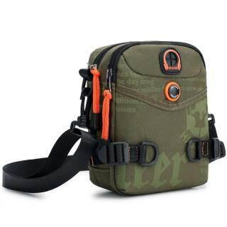 Túi đeo vai mini cho nam đựng điện thoại đồ dùng cá nhân chất liệu nylon chống nước - PJ Taste - INTL thumbnail