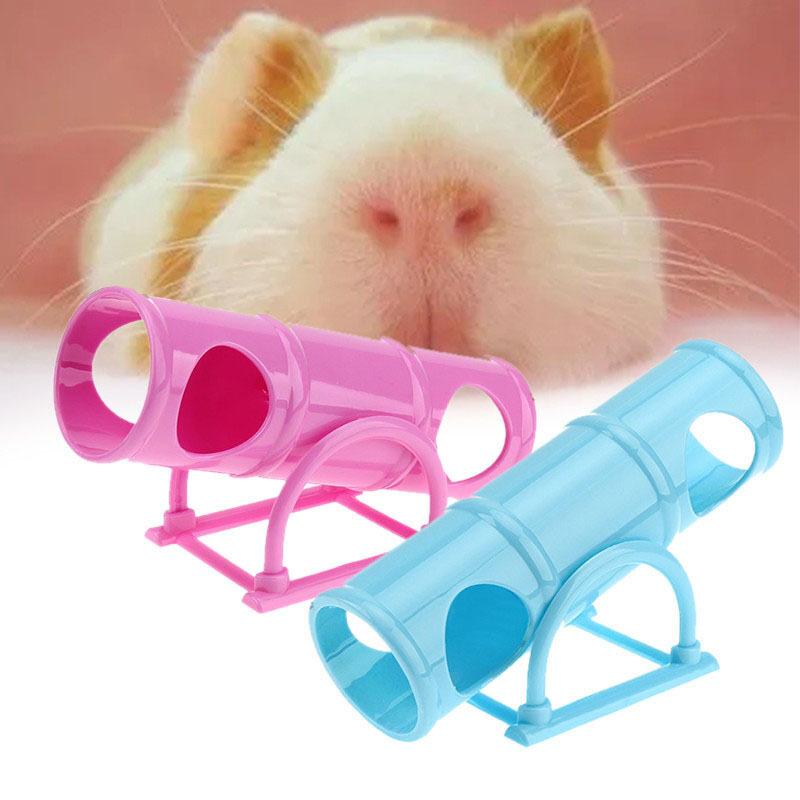 Lý Tưởng Hamster Đồ Chơi Tập Luyện Seesaw Thể Thao Lồng Nhựa Nhà Hầm Ống Phụ Kiện Cho Thú Cưng