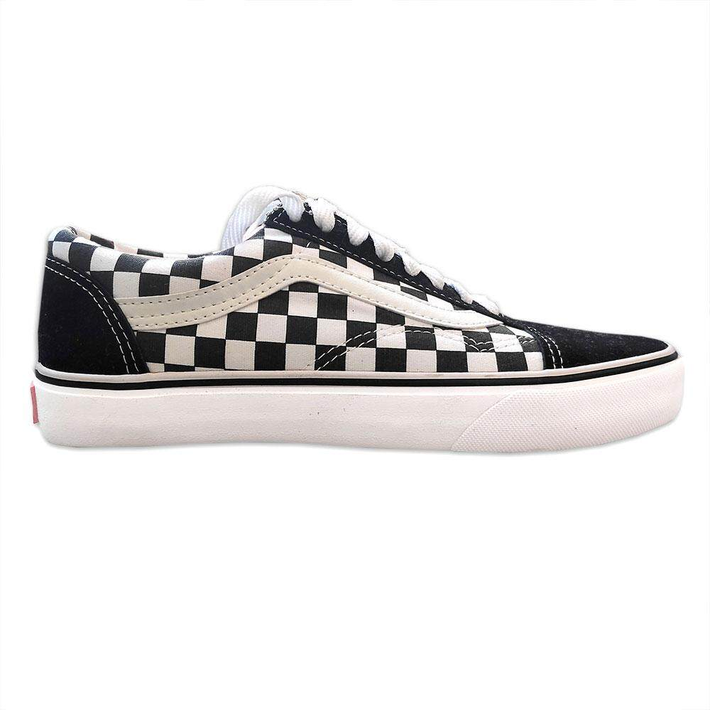 Vans Vault Laced Checkered Black White By House Of Converse.