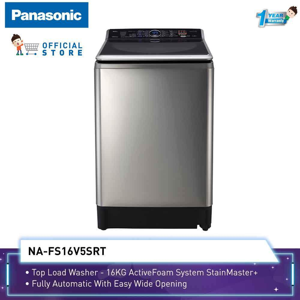 Panasonic 16KG Inverter Top Load Washer NA-FS16V7SRT