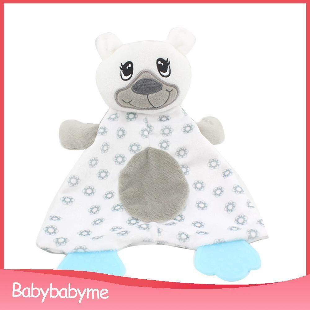 Baby Doll Soothing Towel Blanket Newborns Cartoon Duck Plush Hanging Toys Baby Rattle Animal Plush Toys Music Toys Toys & Hobbies
