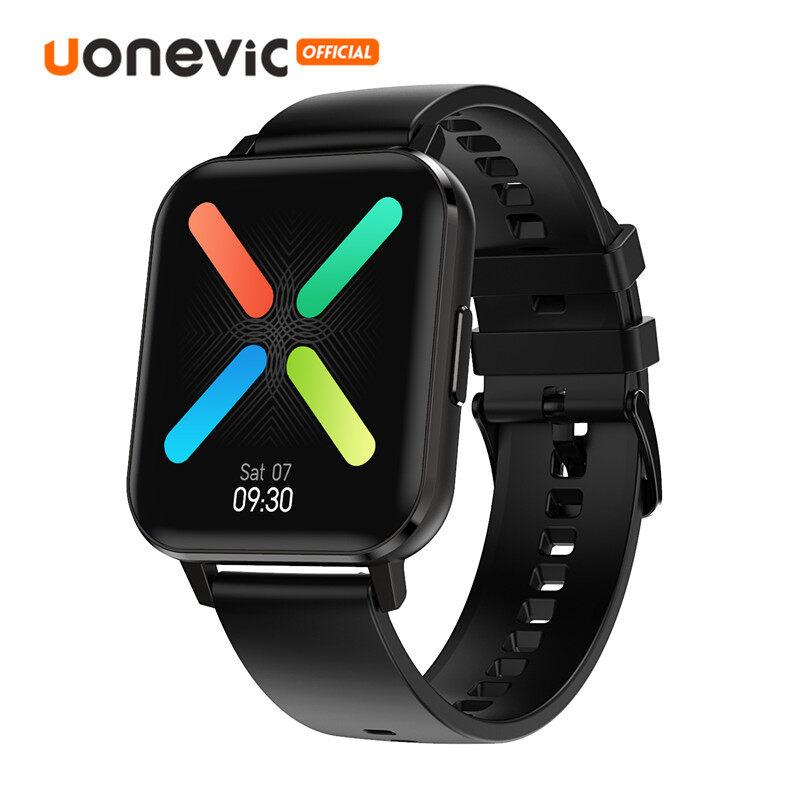 Đồng hồ thông minh Uonevic DTX cho nam mặt 1.78 inch cảm ứng toàn bộ độ phân giải 320*385P có khả năng chống nước IP68 hỗ trợ hệ điều hành Android/IOS