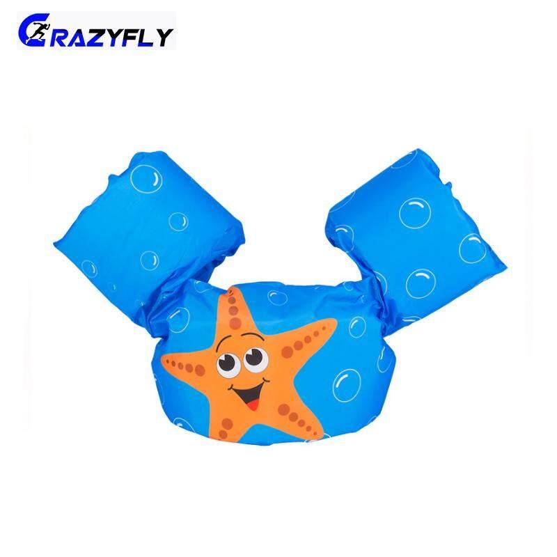 Crazyfly Puddle Jumper สระว่ายน้ำการ์ตูนเสื้อชูชีพห่วงยางความปลอดภัยสำหรับเด็ก By Crazyfly.