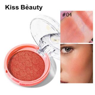 Bisturizer Kiss Beauty Mist , Matte, Đơn Sắc Blush Tinh Tế Phấn Nhũ Mịn Làm Tăng Cường Làn Da Mịn Màng Blush thumbnail