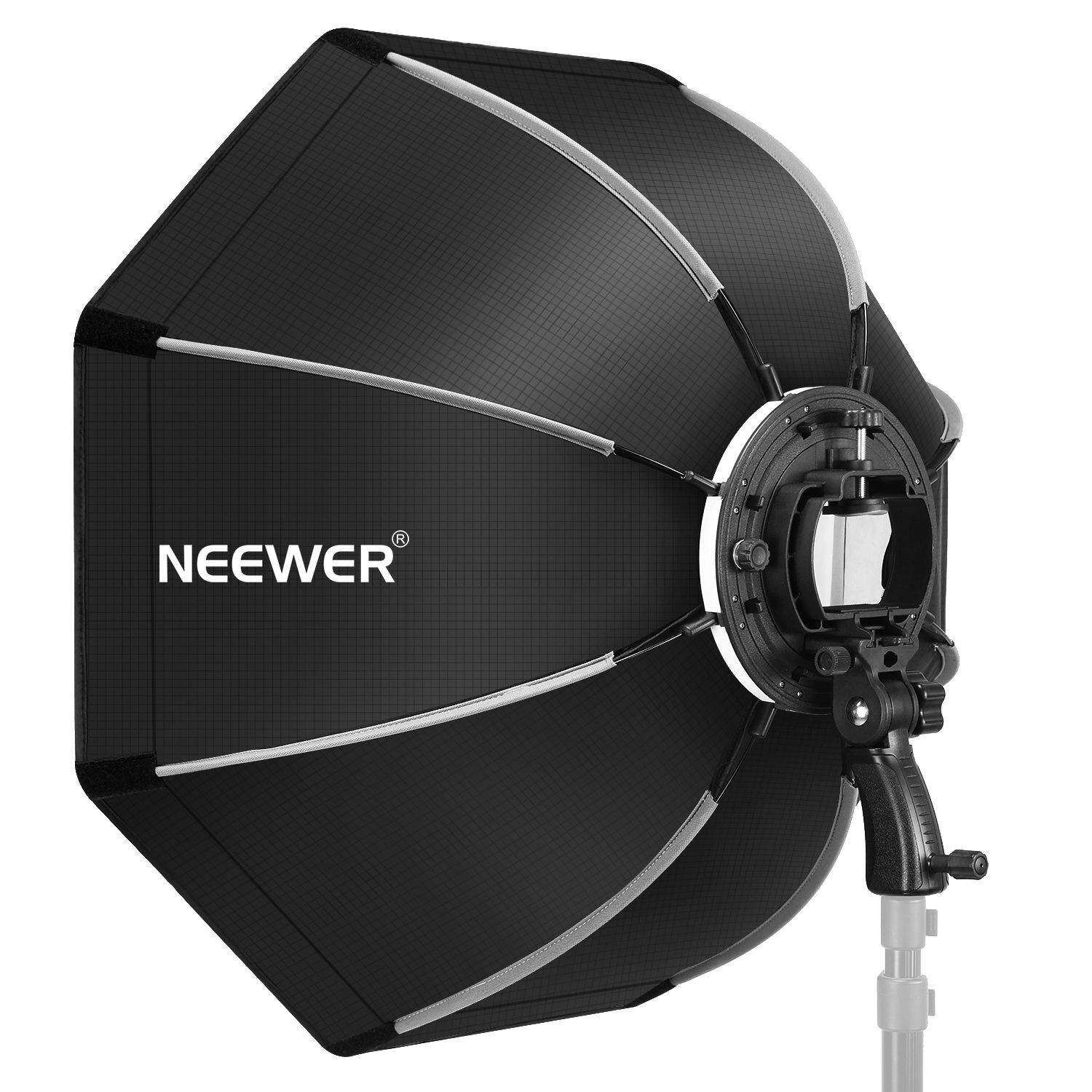Neewer 26 inches 65 centimeters Octagonal Softbox with S-type Bracket  Mount 31369ea51