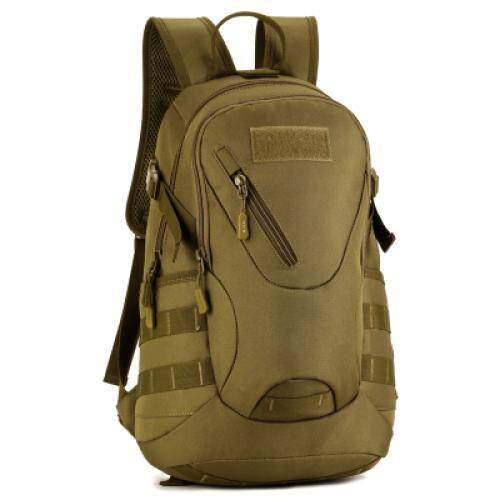 ba45ec4816e 20L Waterproof Military Backpack for Outdoor Traveling Cycling (GREYISH  BROWN)
