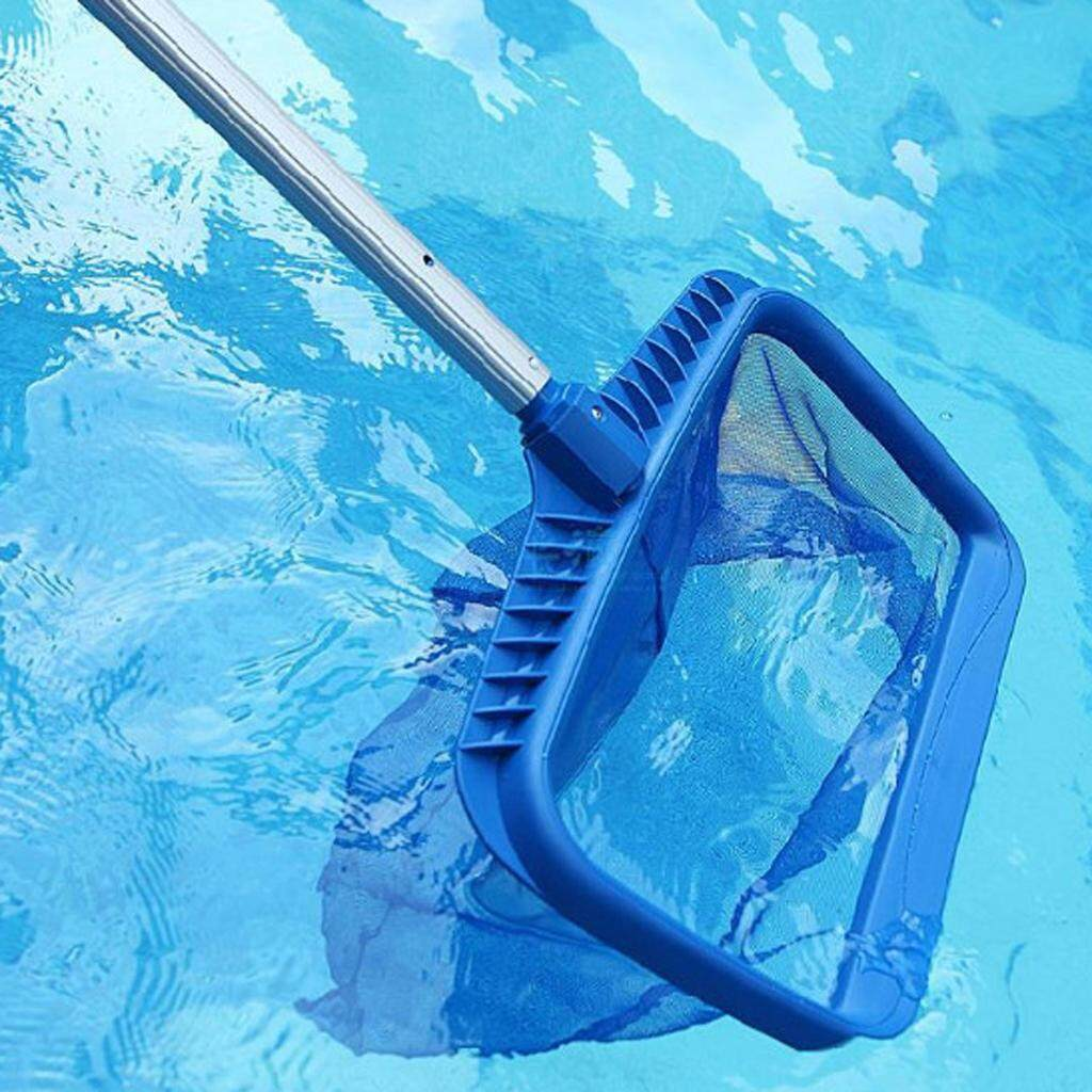 Loviver 3x Leaf Skimmer Net Rake Mesh Swimming Pool Cleaning Max 1m Telescopic Pole By Loviver.