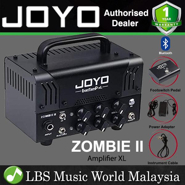 Joyo ZOMBIE II 20 Watt Amplifier Head BanTamP XL Series Speaker Amp Hybrid Tube With Bluetooth and Foot Switch Malaysia