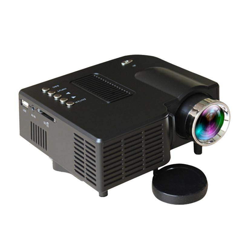 LEDMOMO Digital 1080P HD Projector Mini Portable LED Home Theater Cinema Game Projector with US Plug