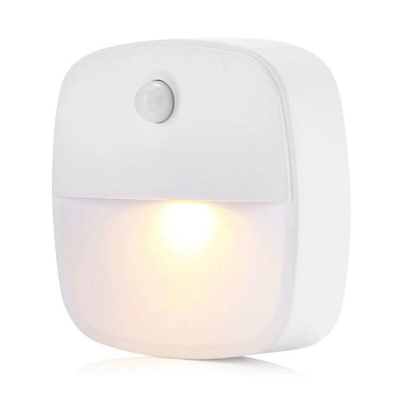 Bảng giá Đèn Ngủ LED Cảm Biến Tự Động Điều Khiển Bằng Pin, Đèn Ngủ Chạy Bằng Pin Cho Hành Lang Phòng Ngủ, Lối Đi, Nhà Vệ Sinh