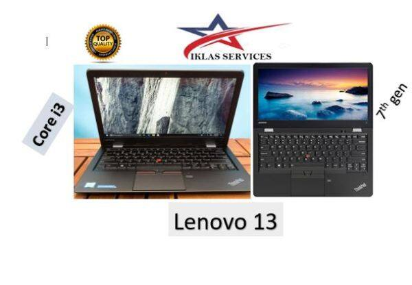 LENEVO THINKPAD 13 (CORE I3-7TH GEN, 8GB RAM DDR4, 128GB SSD, 13.3 HD SCREEN SLIM MODEL Malaysia