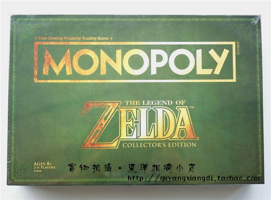 【Original Genuine】Hasbro Monopoly Zelda The Legend of Zelda Collector's  Edition