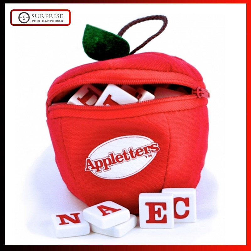 Appletters Spelling and Word Tile Game By Bananagrams