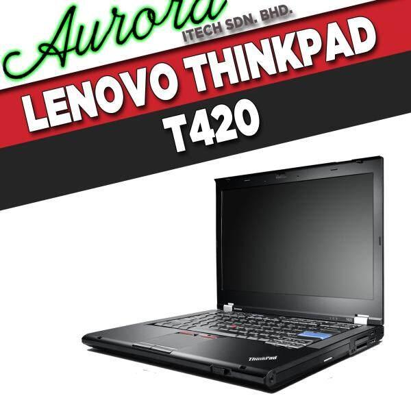 (REFURBISHED)Lenovo ThinkPad T420 / INTEL CORE i5-2520M / 4 GB DDR3 RAM / 250 GB SATA HDD / 14 - INCH LCD / 1 YearWarranty,Free Mouse Malaysia