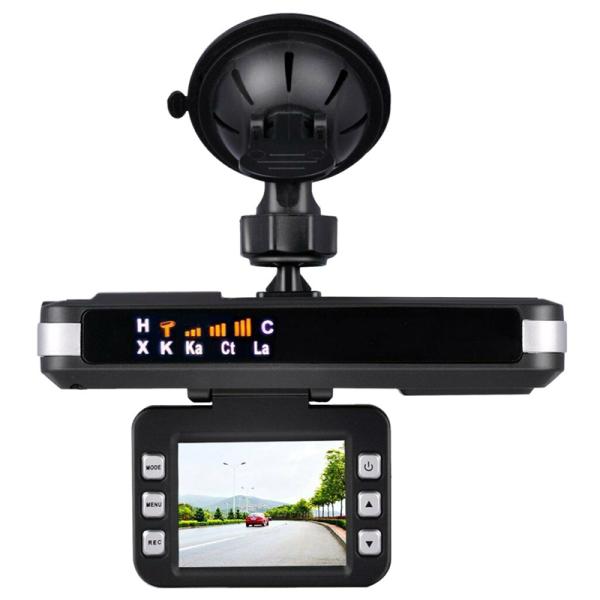 Camera Hành Trình Cho Xe Hơi, Camera Hành Trình 720P 2 Trong 1, Máy Dò Tốc Độ Radar, Máy Ghi Lái Xe