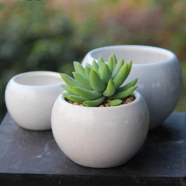[READY STOCK] Succulent Pot / Cactus Pot / 多肉小花盆 / 肉肉小花盆 - Sphere 8cm