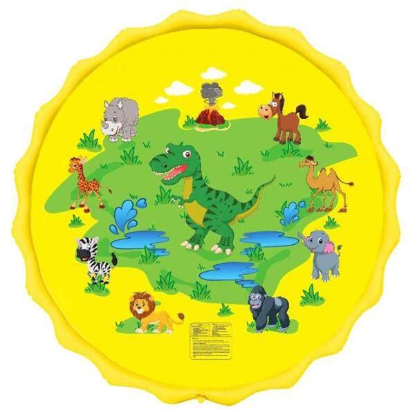 Bảng giá Vòi Phun Nước Bơm Hơi 67 Inch Thảm Chơi Khủng Long Splash Pad Đồ Chơi Ngoài Trời Cho Trẻ Em