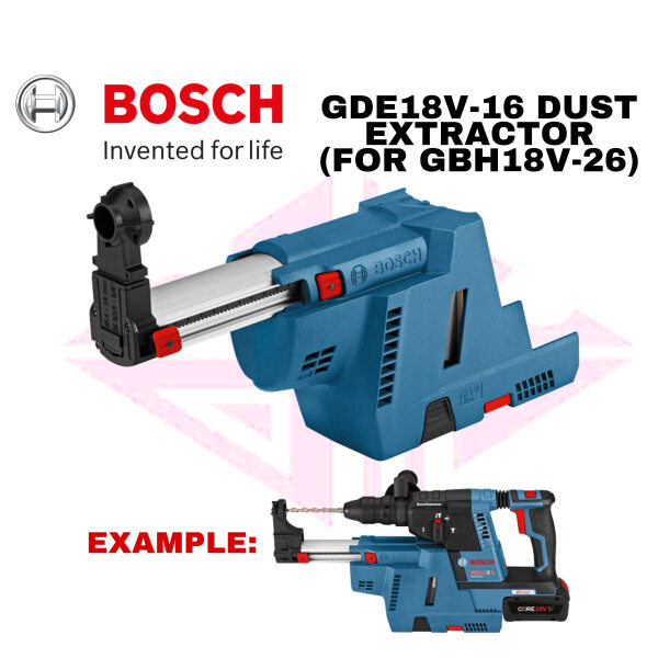 EEHIONG1977 Bosch GDE18V-16 Cordless Dust Extractor for GBH18v-26 Power Tools