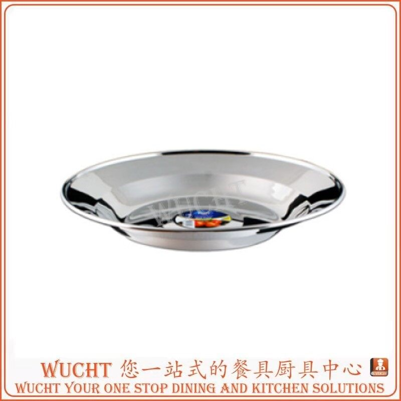 Food Grade 304 Stainless Steel Camping Bowl Dish Outdoor Picnic Tableware
